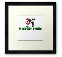 Mystery Twins Framed Print