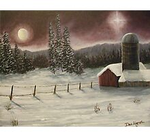 Country Christmas Photographic Print