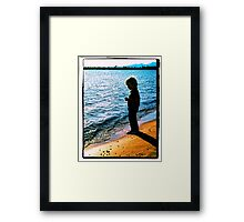 Little Boy Framed Print