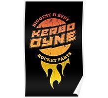 Kerbal Space Program - Kerbodyne Rocket Parts Poster