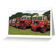 Fairground Transport Greeting Card