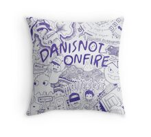 In The Mind of Dan... Throw Pillow