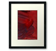 The Untamed Heart Framed Print