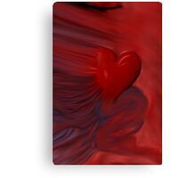 The Untamed Heart Canvas Print
