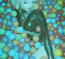 Violet Chachki x Ball Pit by shamshel