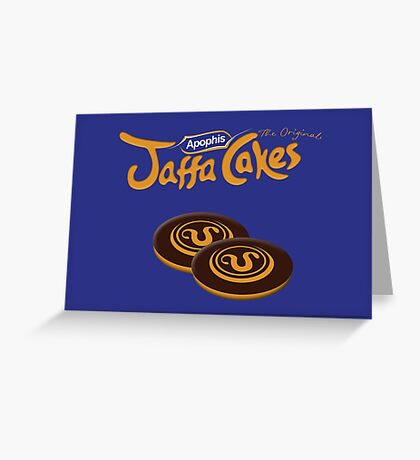 Apophis Jaffa Cakes Greeting Card