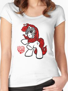 My little Pwny Women's Fitted Scoop T-Shirt