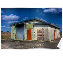 Everglades Missile Site Poster