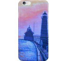 Lighthouse at Dusk iPhone Case/Skin