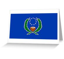 Flag of Pohnpei Greeting Card