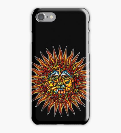Psychedelic Sun iPhone Case/Skin