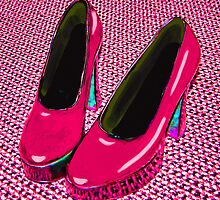 Hot Pink Mary Janes by Julie Everhart