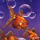 Fish and Bubbles by Alex e Clark