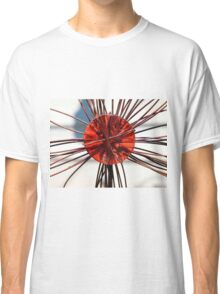 Abstract Red Classic T-Shirt