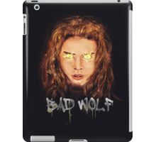 Are You Afraid of the Big Bad Wolf? iPad Case/Skin
