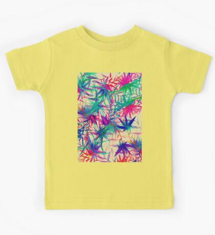 Tropical Jungle - a watercolor painting Kids Tee