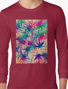 Tropical Jungle - a watercolor painting Long Sleeve T-Shirt