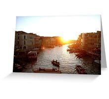 Ahhh... Venice. Greeting Card