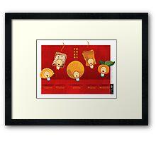 Chinese New Year Choir Framed Print