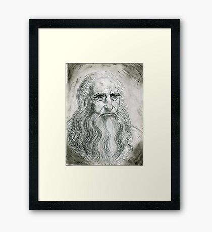 Leonardo DaVinci Framed Print