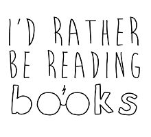 I'd rather be reading books by MariaMenduni