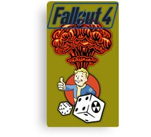 Fallout 4 - PipBoy's Luck Canvas Print