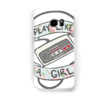 Play Like A Girl!  Samsung Galaxy Case/Skin