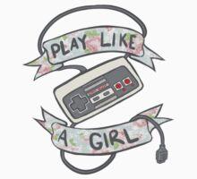 Play Like A Girl!  T-Shirt