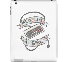 Play Like A Girl!  iPad Case/Skin