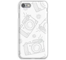 Retro photo cameras iPhone Case/Skin