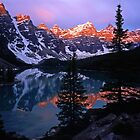 Moraine Lake #5 by Mike Norton