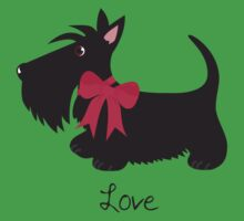 Love Scottie Dog Kids Clothes