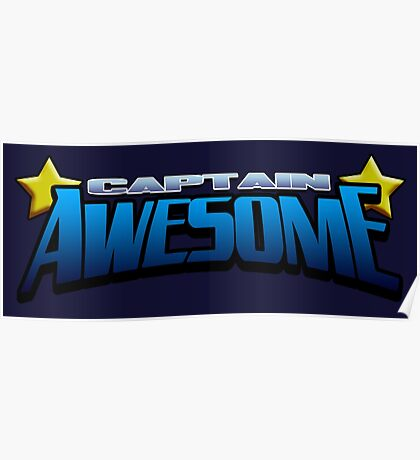 Captain Awesome Poster