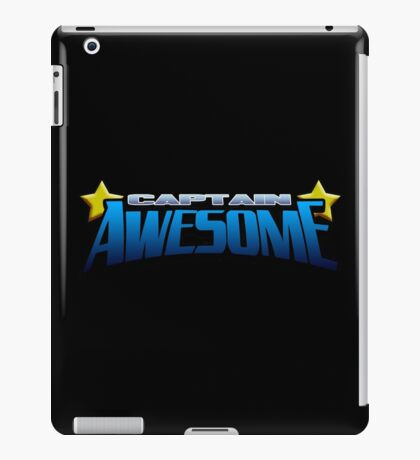 Captain Awesome iPad Case/Skin