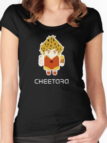 Droidarmy: Thunderdroid Cheetara  Women's Fitted Scoop T-Shirt