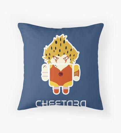Droidarmy: Thunderdroid Cheetara  Throw Pillow