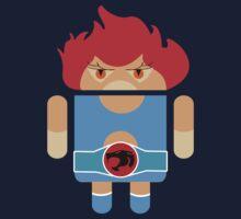Droidarmy: Thunderdroid Lion-o no text Kids Tee