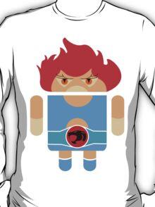 Droidarmy: Thunderdroid Lion-o no text T-Shirt