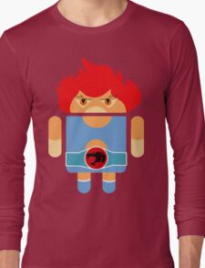 Droidarmy: Thunderdroid Lion-o no text Long Sleeve T-Shirt