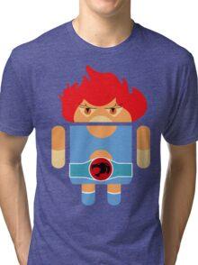 Droidarmy: Thunderdroid Lion-o no text Tri-blend T-Shirt