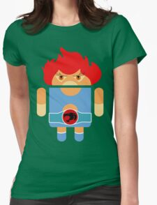 Droidarmy: Thunderdroid Lion-o no text Womens Fitted T-Shirt