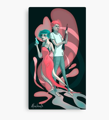 With Just Our Shotguns and Our Love Canvas Print