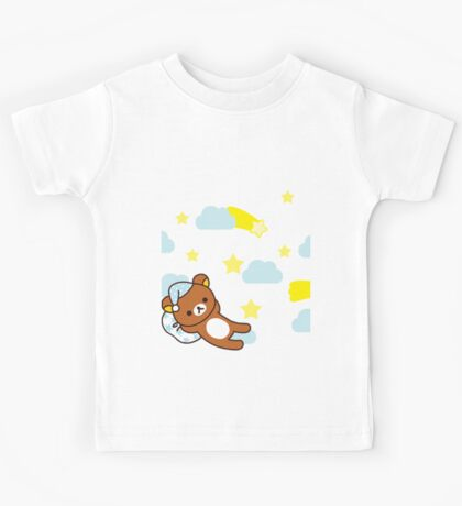 Starry Night ~ Rilakkuma  Kids Tee