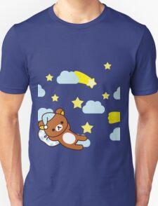 Starry Night ~ Rilakkuma  Unisex T-Shirt