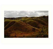Hills of Eastern Oregon Art Print