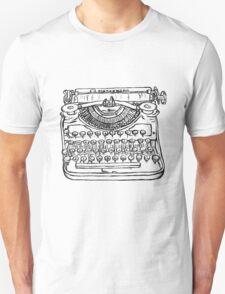 Newfangled writey machine T-Shirt