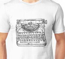 Newfangled writey machine Unisex T-Shirt