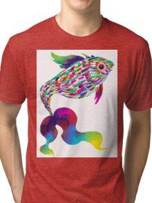 Rainbow Fish Tri-blend T-Shirt