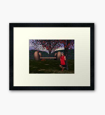 ASL I Love You from Valentine Park Framed Print