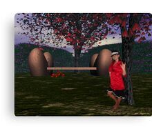 ASL I Love You from Valentine Park Canvas Print